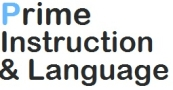 Prime Instruction & Language Logo