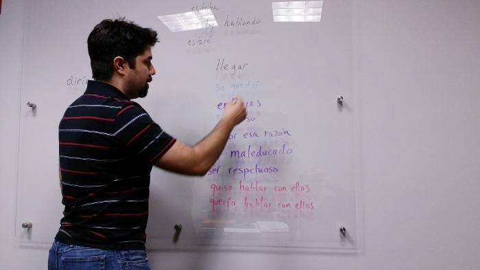 Joseph Gonzales, instructor, language school in Austin
